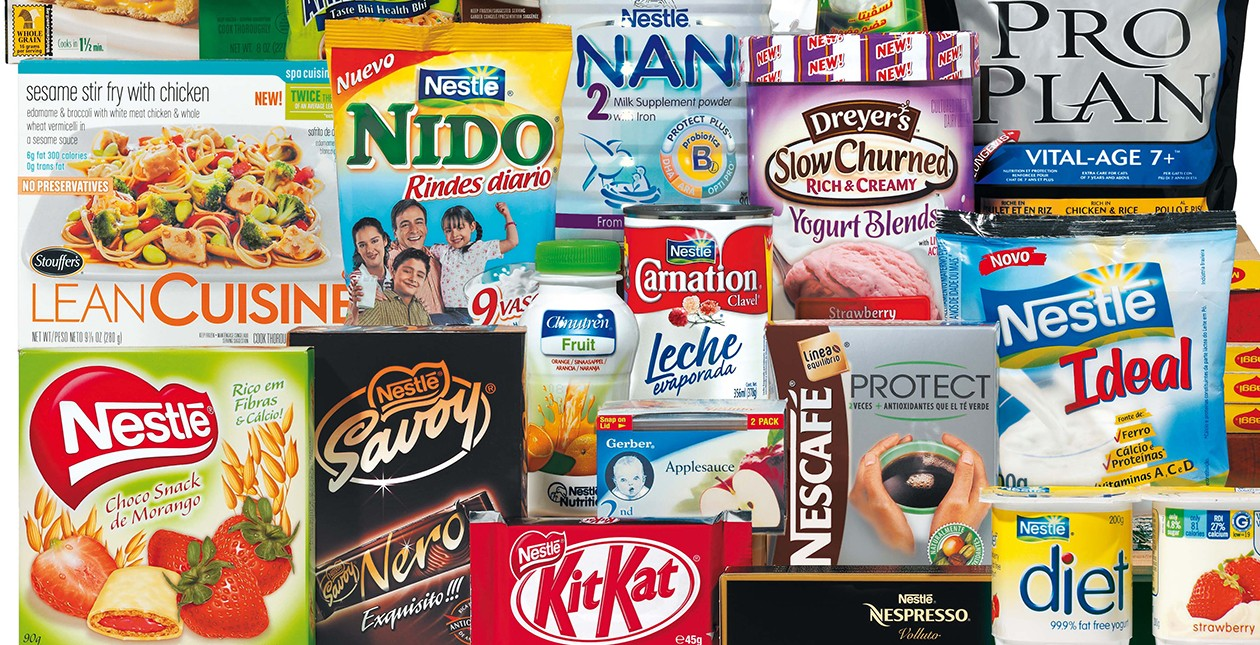 Nestle produce some of Britains best brands